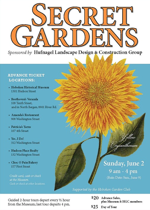 Secret Garden Tour poster-2013