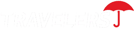 Travelers White Logo