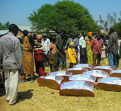 Solar Cooking Exhibit at Nane Nane