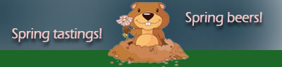 groundhog says: SPRING!