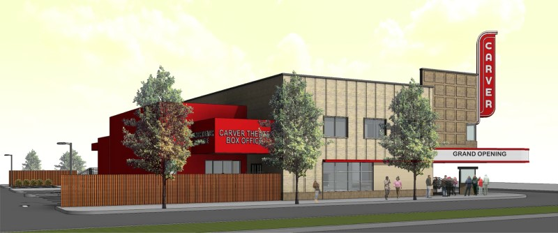 Carver Theater Rendering