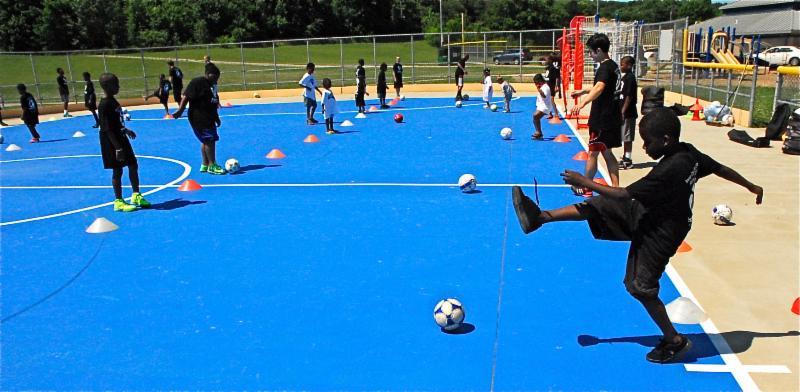 Lane Field Futsal Training