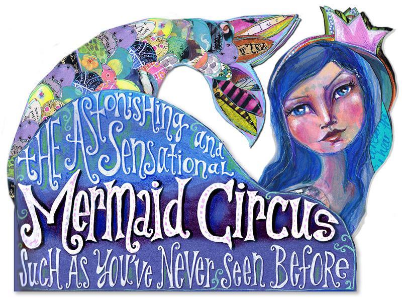 mermaid Circus large logo