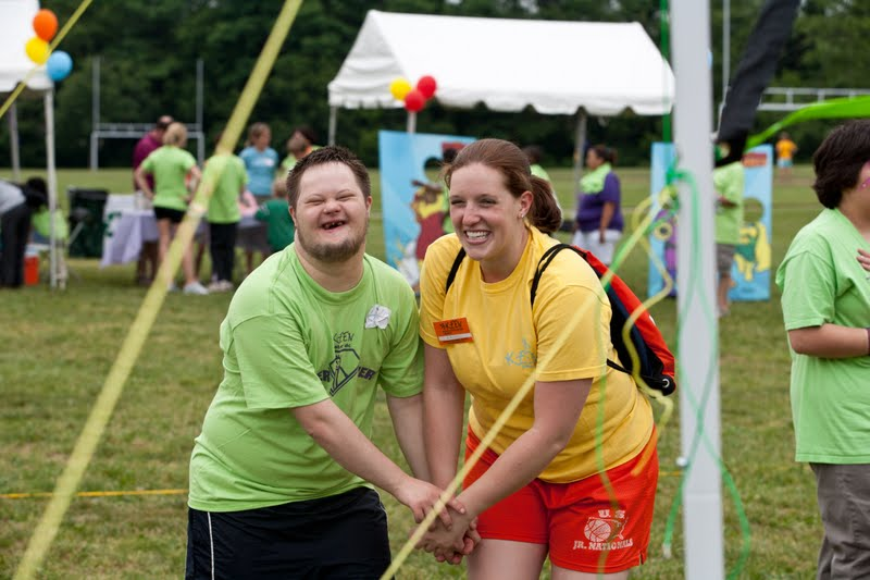 Athlete and Volunteer