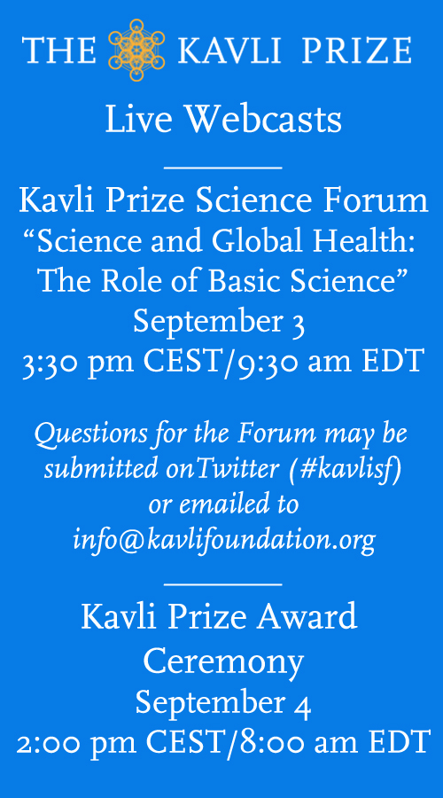 Kavli Prize Week Webcasts