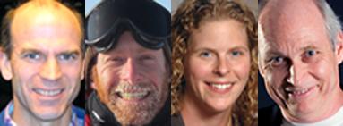 John Carlstrom, Walter Ogburn, Abigail Vieregg and Michael Turner