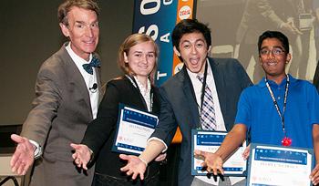 Bill Nye and Video Winners 2012