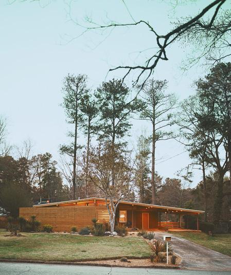 Atlanta Mid-Century Modern Home for sale
