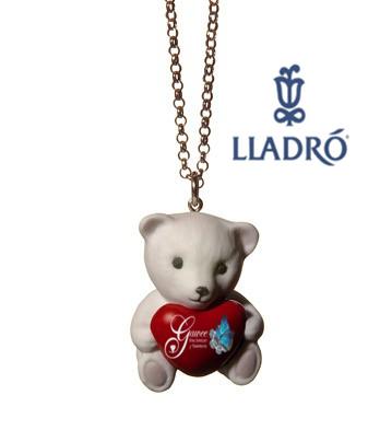 lladro heart bear