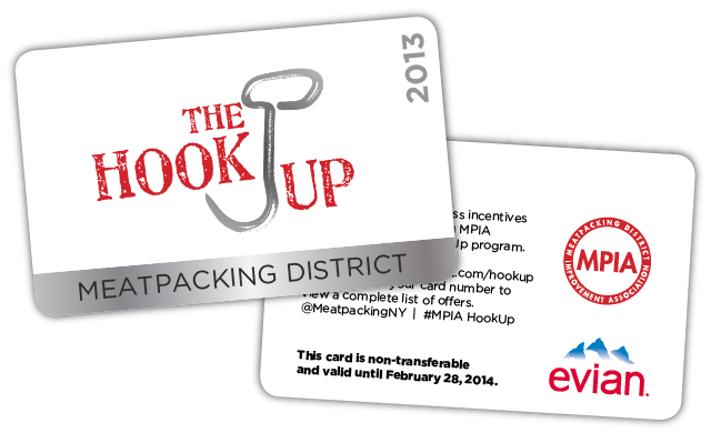 Meatpacking district hook up card