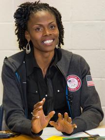 Chaunte Lowe - a GCPS Olympian