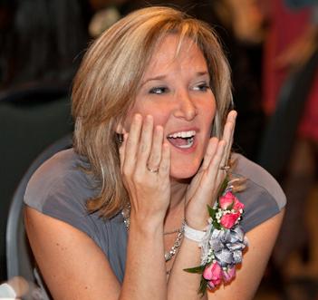Jennifer Dunn just learns she's been named Gwinnett's 2012 TOTY