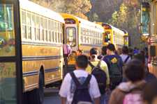 Bus safety begins before students board