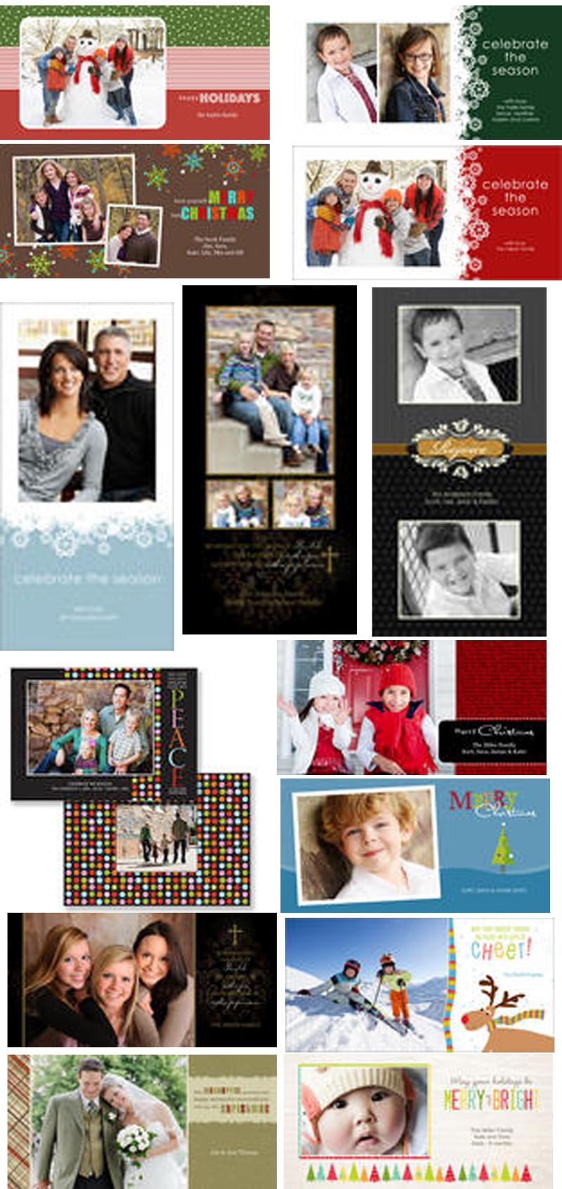 sample Christmas Photo Cards