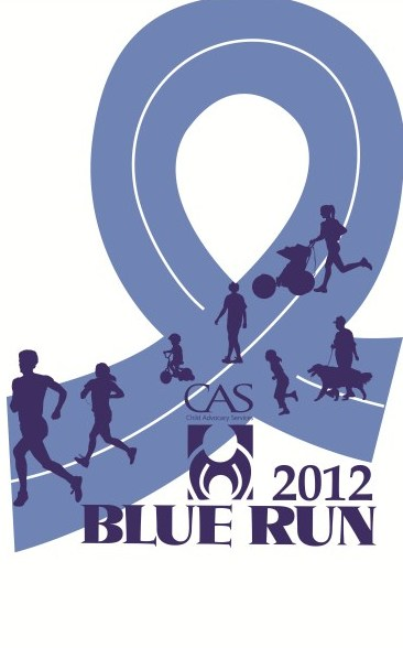 Blue Run Logo 2012