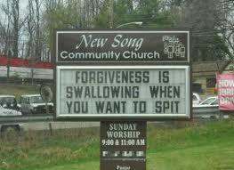 church sign 10