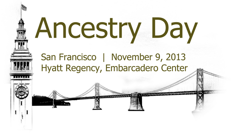 Ancestry Day 2013 logo
