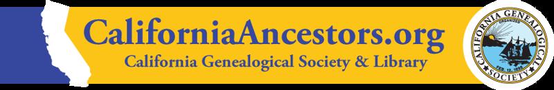 California Ancestors invite banner