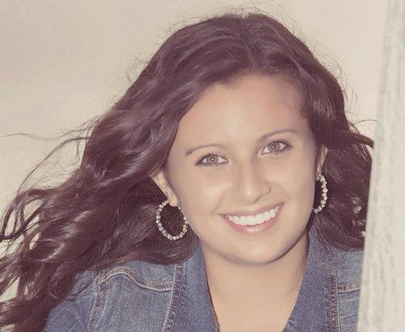 Student Brianna Ridenour
