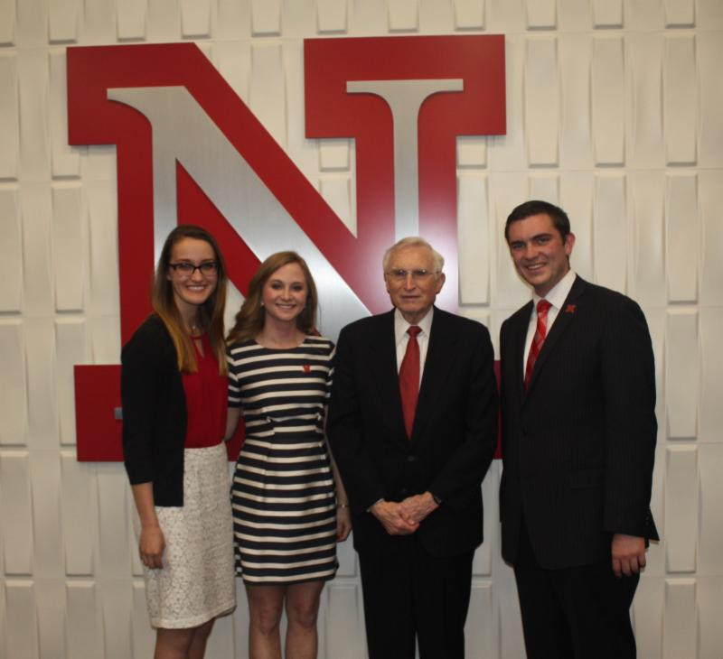 2016-2017 ASUN officer installation at UNL
