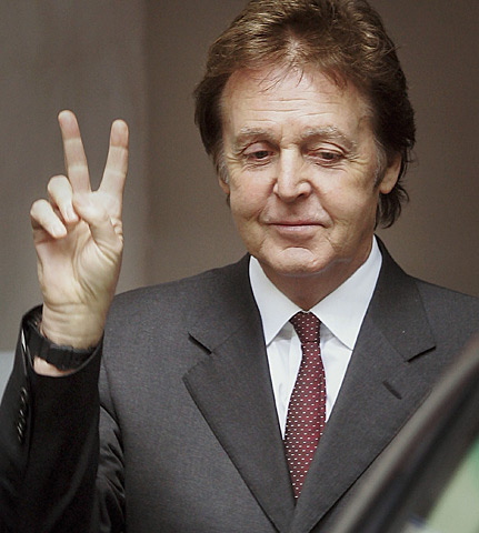 Paul McCartney old