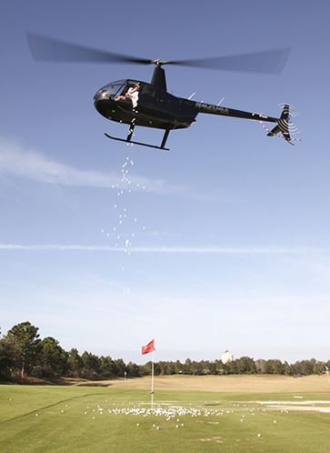 Our 2012 helicopter ball drop
