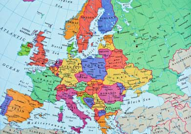 Europe Globe Photo