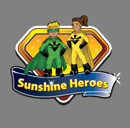 Sunshine Heroes Logog