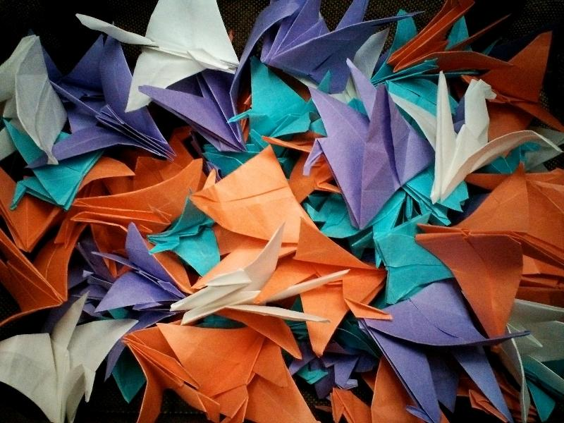 1000 cranes for AK