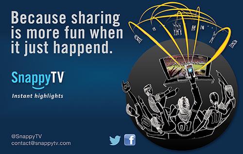 Snappy TV ad half