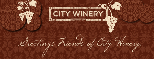 3404 City Winery's New Website