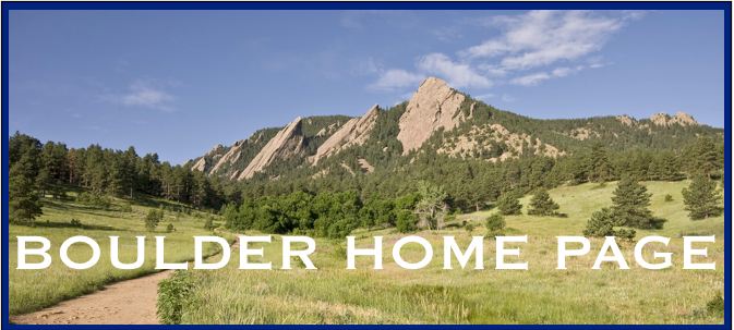 Boulder Home Page Newsletter
