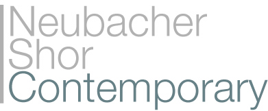 Logo that reads Neubacher Shor Contemporary
