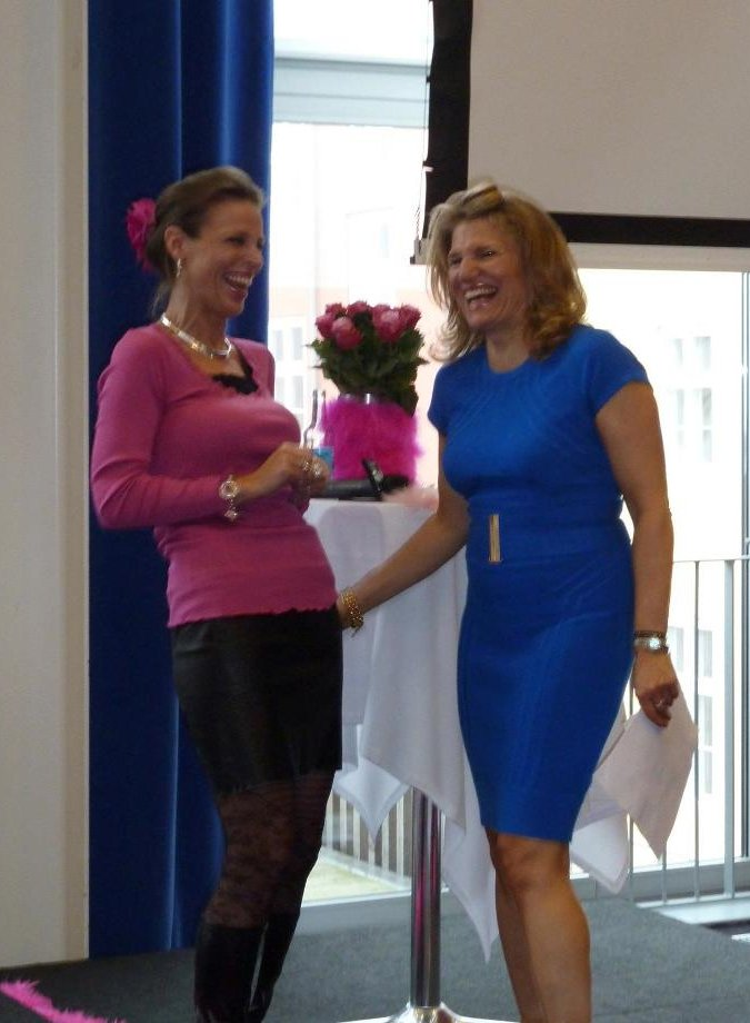 Regena and Kirsten