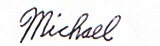 Michael B. Rubin signature