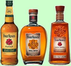 Four Roses Bourbons