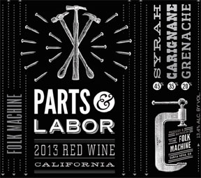 Parts and Labor Label