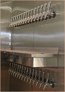 Our 30 Tap Growler Refill Station
