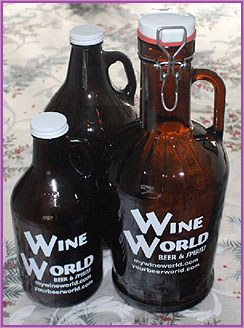 Wine World Growlers