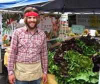 Seth and farmstand
