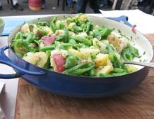 potato pea salad