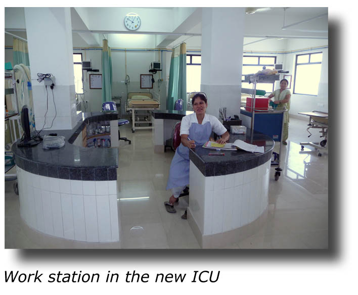 Duncan nurses' station