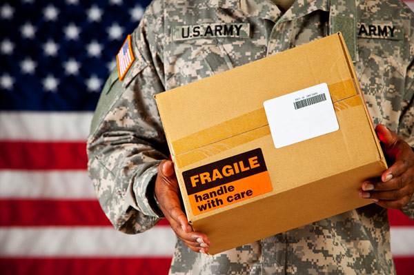 show your support and appreciation to our servicemen and women and send a care package it means so much to them to receive something from home