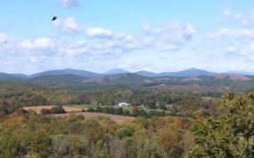 Yogaville mountain