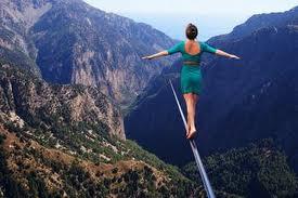 balance tight rope