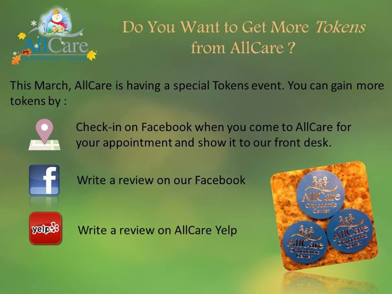 Welcome to spring, Lets celebrate the upcoming spring event with AllCare!!
